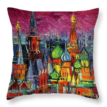 Russian Impressionism Throw Pillows