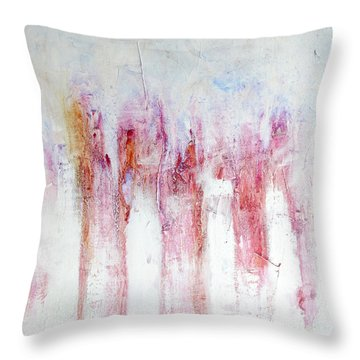 Throw Pillow featuring the painting Moscow by Rick Baldwin