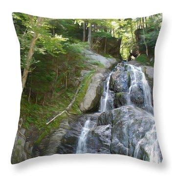 Mose Glenn Falls Granville Vt. Throw Pillow