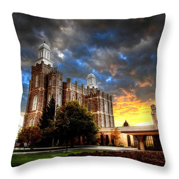 Moses Light Throw Pillow