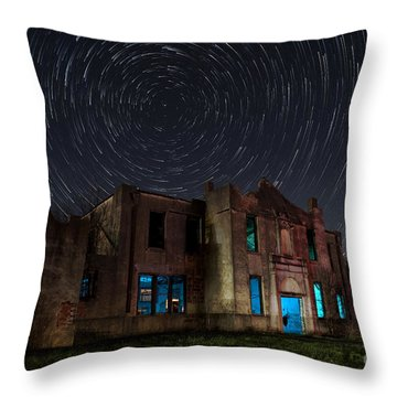 Mosheim Texas Schoolhouse Throw Pillow