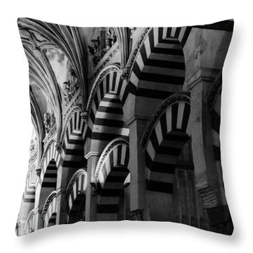 Mosque Cathedral Of Cordoba 6 Throw Pillow
