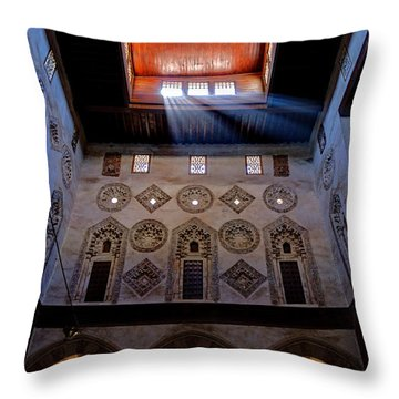 Mosque Of The Swordbearer Throw Pillow