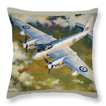 'mosquito Survey Flight' Throw Pillow