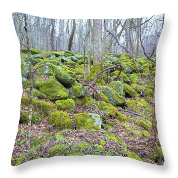 Moss - Gatlinburg Throw Pillow