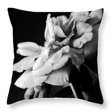 Moss Rose I Throw Pillow