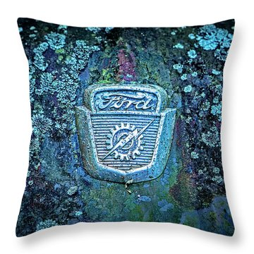 Mossy Ford  Throw Pillow