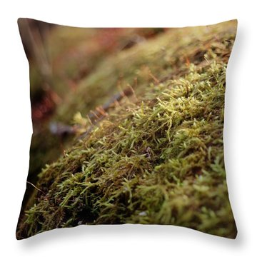 Mossy Throw Pillow