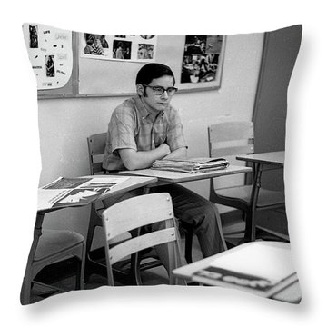 Most Scholarly Student, 1972 Throw Pillow