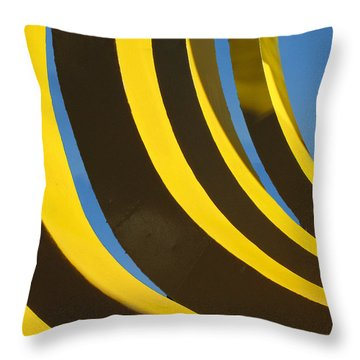 Mostly Parabolic Throw Pillow
