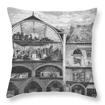 Mo�t Et Chandon, 1862 Throw Pillow by Granger