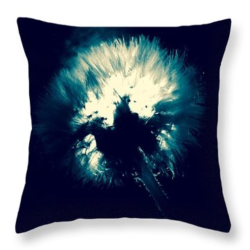 Moth Man Throw Pillow