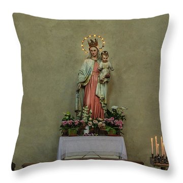 Mother And Child Siena Throw Pillow