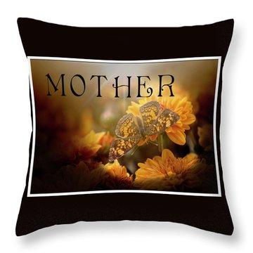 Mother Art Throw Pillow