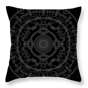Mother Inverse Throw Pillow