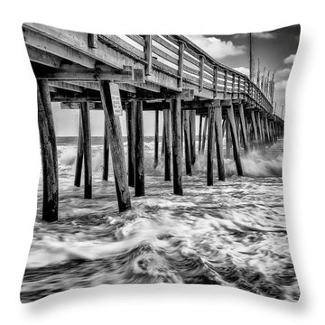 Mother Natures Power Throw Pillow