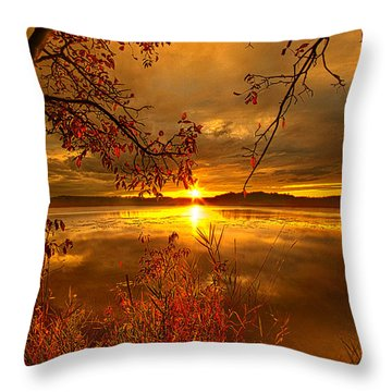 Mother Nature's Son Throw Pillow