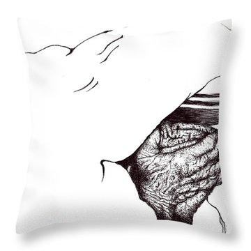 Mother Teresa-pray Today Throw Pillow