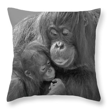 Motherhood 10 Throw Pillow