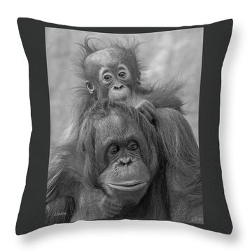 Motherhood 14 Throw Pillow