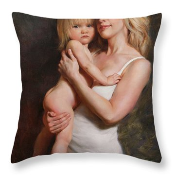 Motherhood Throw Pillows