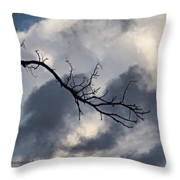 #mothernature Please Bring On The #rain Throw Pillow