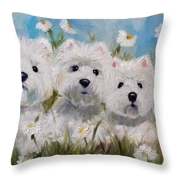 Mother's And Daughters Throw Pillow
