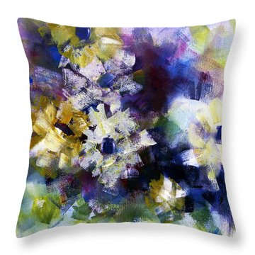 Throw Pillow featuring the painting Mothers Day by Katie Black
