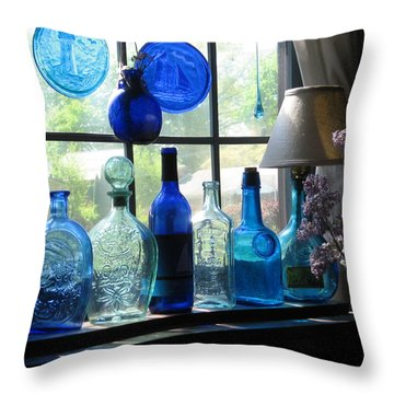 Mother's Day Window Throw Pillow