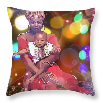 Mothers Love Throw Pillow