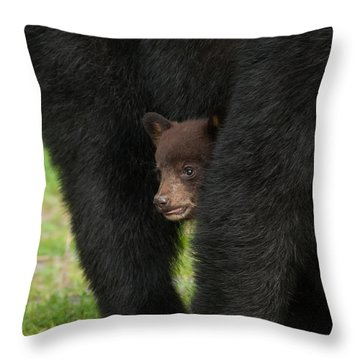 Mother's Shelter Throw Pillow