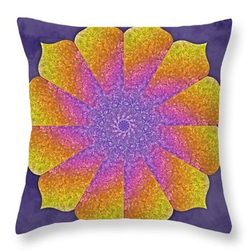 Mothers Womb Throw Pillow