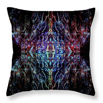 Mothership Throw Pillow by Samantha Thome