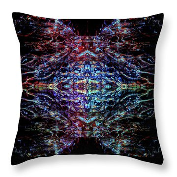 Mothership The Second Throw Pillow