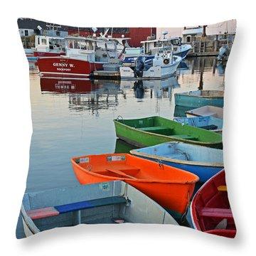 Motif #1 Rockport Ma Throw Pillow