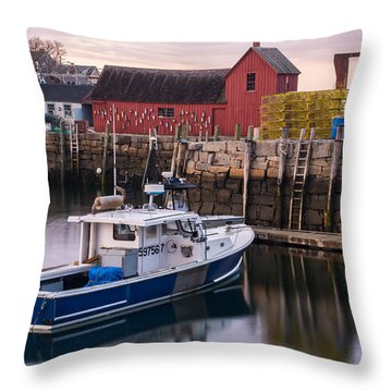 Motif No 1 Evening Throw Pillow