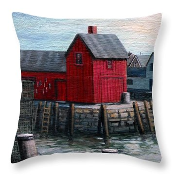 Motif No.1 Throw Pillow by Eileen Patten Oliver