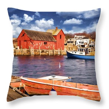 Throw Pillow featuring the photograph Motif Number One by Jaki Miller