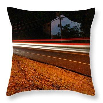 Motion Throw Pillow