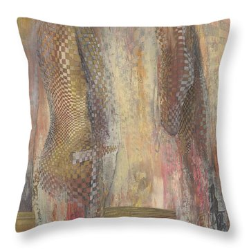 Motives Lay Bare Throw Pillow