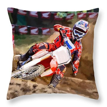 Moto-x Throw Pillow