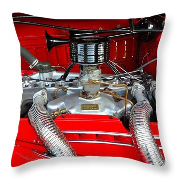 Motor 1 Throw Pillow