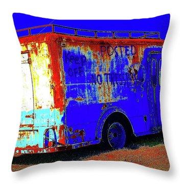Motor City Pop #13 Throw Pillow