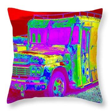 Motor City Pop #14 Throw Pillow