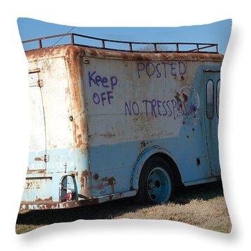 Motor City Pop #16 Throw Pillow