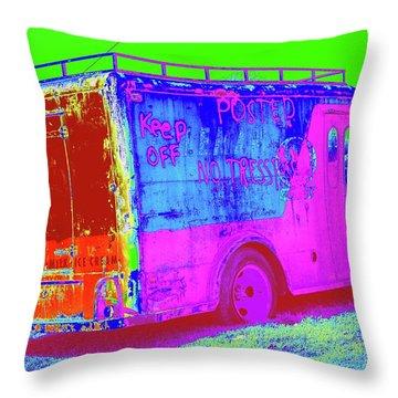 Motor City Pop #20 Throw Pillow