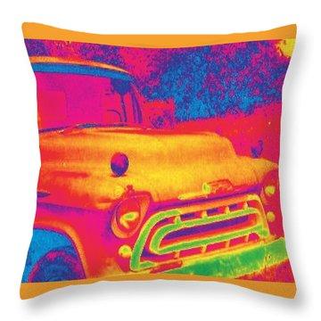 Motor City Pop #6 Throw Pillow
