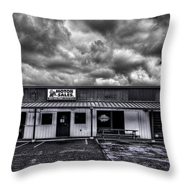 Motor Sales Or Not Throw Pillow