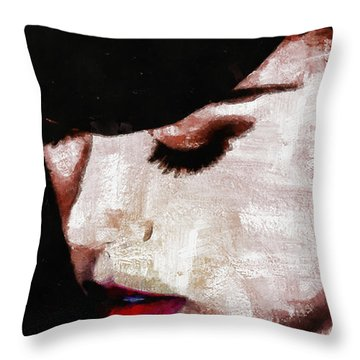 Moulin Rouge - Nicole Kidman Throw Pillow