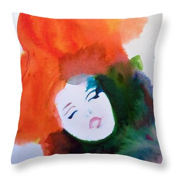 Moulin Rouge Throw Pillow by Ed  Heaton